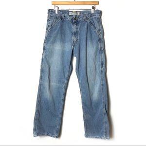 LEVIS Vintage Carpenter Loose Straight Jeans Denim